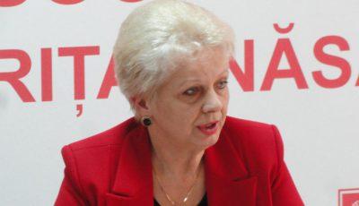 Ministrul Doina Pană acuză Guvernul Cioloș
