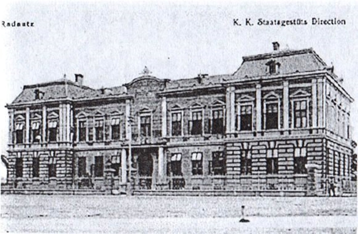 Sediul_Directiei_Hergheliei _Radauti_1910