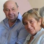 Compozitorul Adrian Enescu și actrița Ileana Popovici