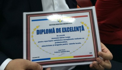 Adrian Lungu, premiu de excelenţă