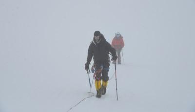 Ciprian Pătraşcu, alpinist clujean