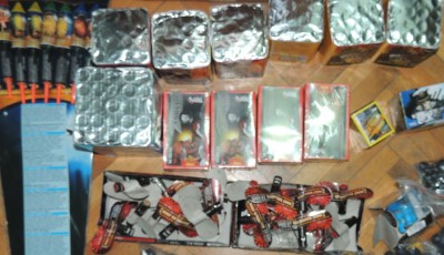 Petarde confiscate