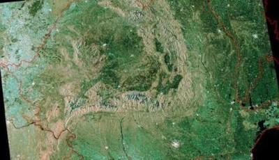 România din satelit