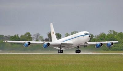 Avionul lui Traian Băsescu