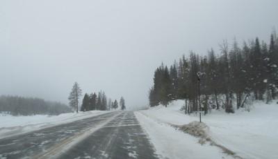 iarna trafic
