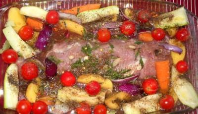 muschi de porc la cuptor