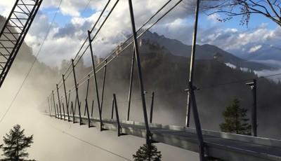 Highline 179, pod suspendat