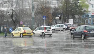 trafic in conditii de ploaie