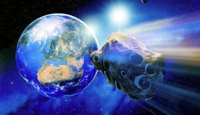 asteroid pe langa pamant