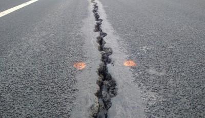 fisuri autostradă