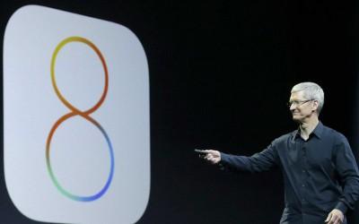 Lansarea sistemului iOS8