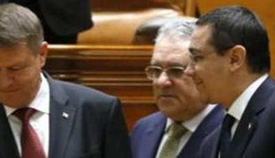 Iohannis şi Ponta