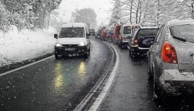 Şosele cu zăpadă