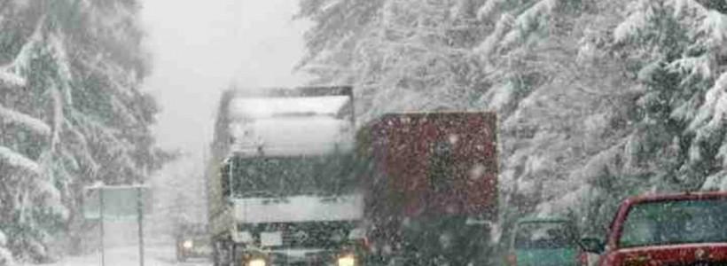 trafic rutier iarna