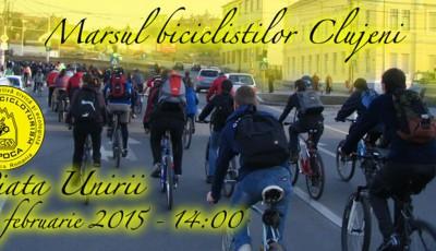 CCN Afis Marsul biciclistilor clujeni 14feb2015