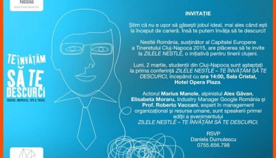 invitatie Nestle