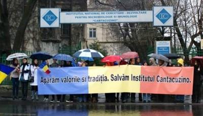 Protest Institutul Cantacuzino