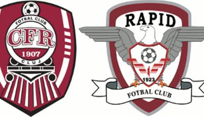 CFR Cluj vs Rapid Bucuresti