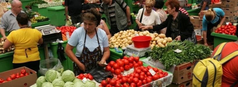 piaţă alimente