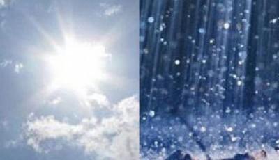 ploi si soare