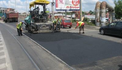 lucrări asfalt