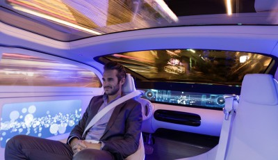 Mercedes Benz F 015 Luxury in Motion, masina autonoma