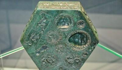 matrita bronz, descoperita la Sarmisegetusa