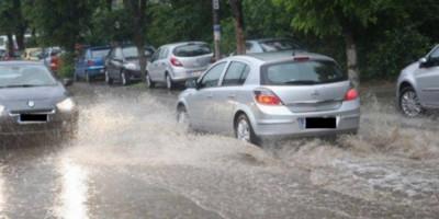 trafic ploaie