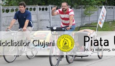 Marsul biciclistilor, iul2015