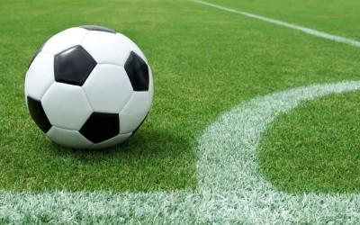 fotbal minge teren
