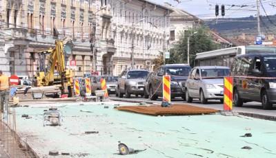 reabilitare strazi in Cluj