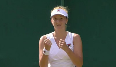 Irina Begu, calificat, turul II Washington