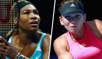 Serena Williams şi Simona Halep