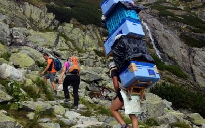 şerpaş în Munţii Tatra