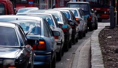 mașini în trafic