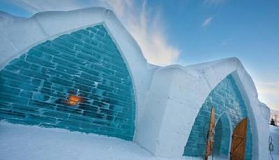 Hotel gheață Quebec
