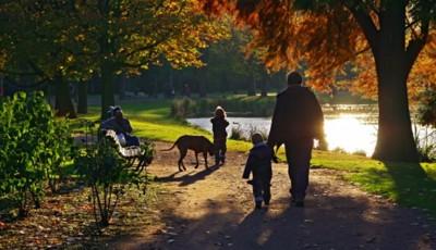 plimbare parc