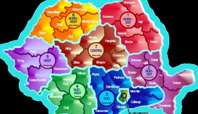 regiuni dezvoltare