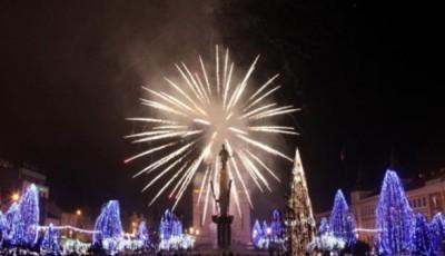 artificii la Cluj