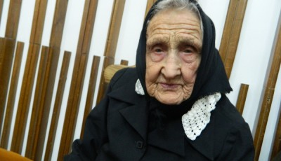 Matolcsi Ida, cea mai batrana femeie din Satu Mare