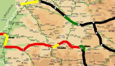 harta autostrazi prioritare