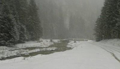 iarna in Maramures trafic