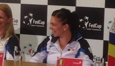 Simona Halep Fed cup Romania
