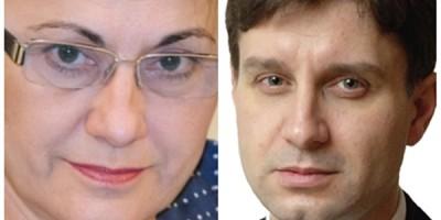 Ecaterina Andronescu si Aurelian Mihai