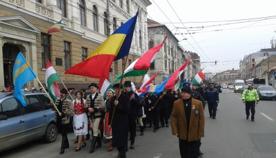 mars maghiari Cluj