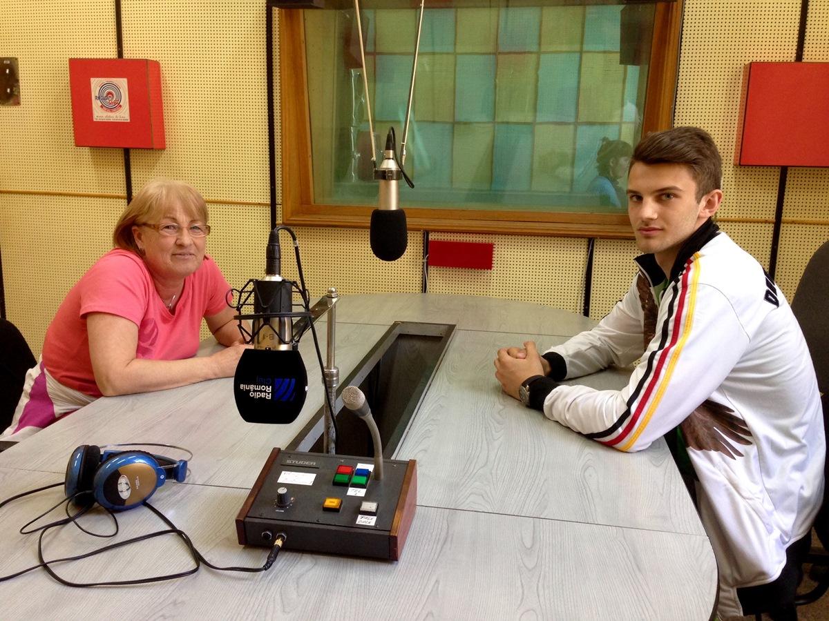 Gabi Rusu și Călin Hossu