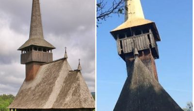biserici de lemn in Parcul Etnografic Romulus Vuia