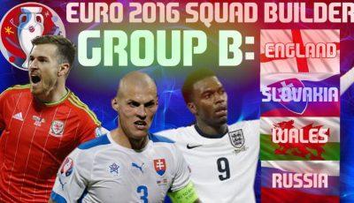 Grupa B EURO 2016