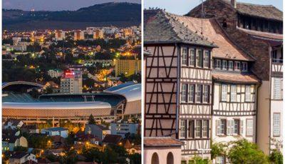 De la Cluj Napoca la Strasbourg