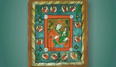 Maica Domnului in iconografia romaneasca